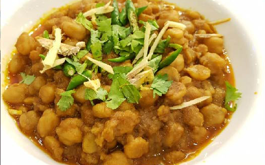 Breakfast-Chana-Tarkari
