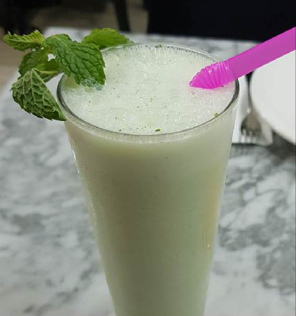Breakfast-Mint-Lassi