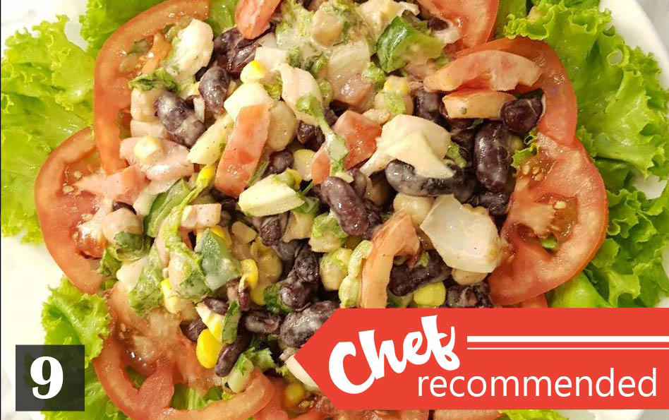 9 | Red Bean Salad - Chef Recommended