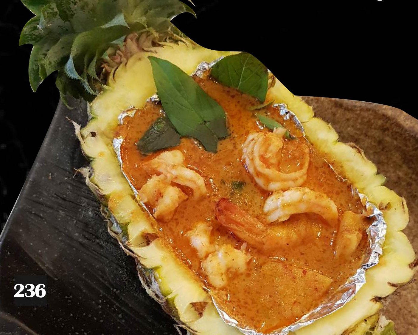 236 | Prawn Curry with Pineapple