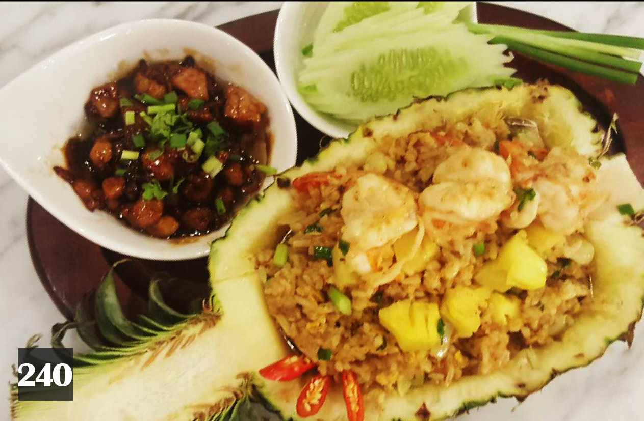240 | Fried Rice with Pineapple