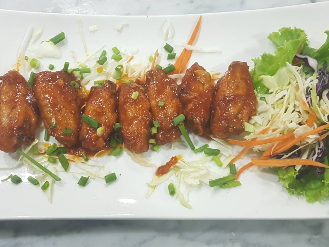 Deep Fried Chicken Wings with Fish Sauce